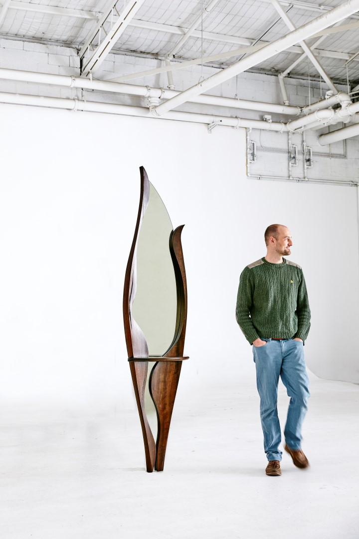 Paul Chilton fine furniture designer maker