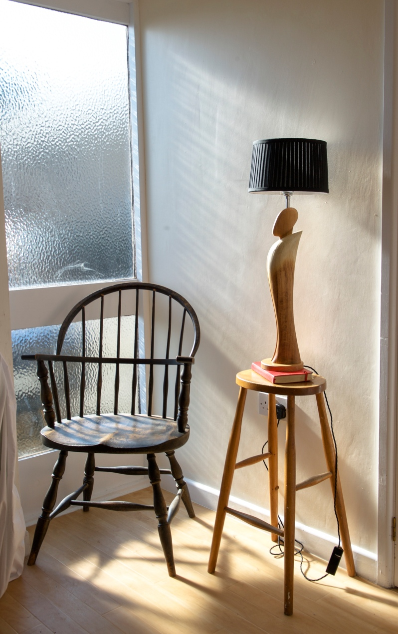 Paul Chilton table lamp design