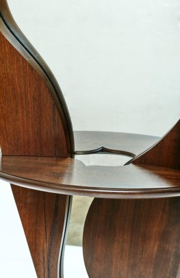 Confluence bespoke contemporary mirror design by Paul Chilton