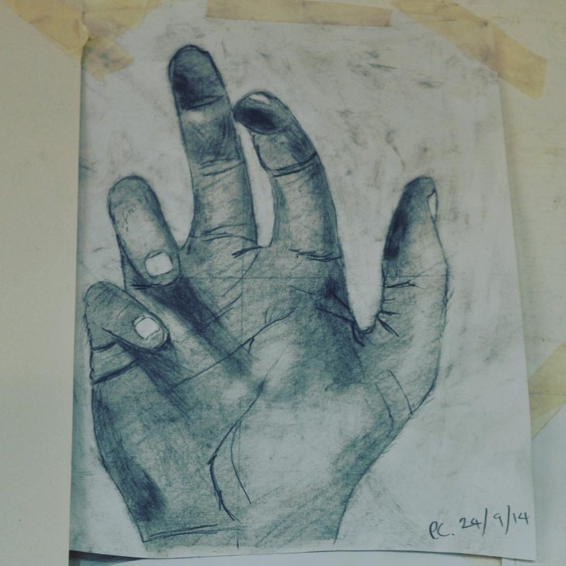 Paul Chilton hand sketch
